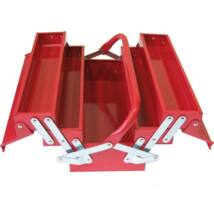 Szétnyitható fém szerszámosláda 45x20x20 cm / két tagos