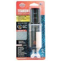 Kétkomponensű Titanium epoxy szupererős fémragasztó
