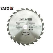 Yato Körfűrészlap (Vídialapkás) 250x30mm / 24fog / YT-6070