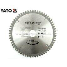 Yato Körfűrészlap Aluminiumhoz (Vídia) 210x30mm / 72fog / YT-6093