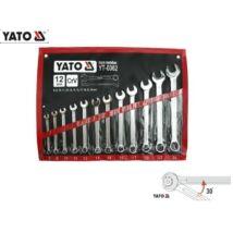 Yato Csillag-Villáskulcs Készlet 8-24mm / 12db-os / YT-0362