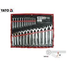Yato YT-0365 Csillag-Villáskulcs Készlet 6-32mm (25db-os)