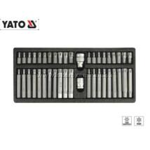 Yato Bit Készlet 42db-os (Ribe és Furatos Torx) / YT-0420