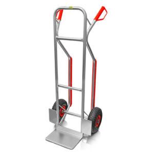 Kézikocsi / molnárkocsi 200kg terhelhetőséggel (aluminium)