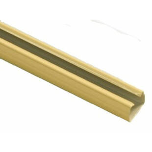 Gardinia duplázósín karnishoz beige 240cm