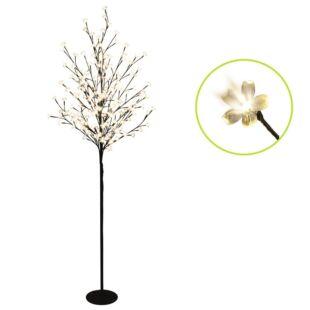 Virágzó cseresznyefa LED-es világító dekor (150cm)