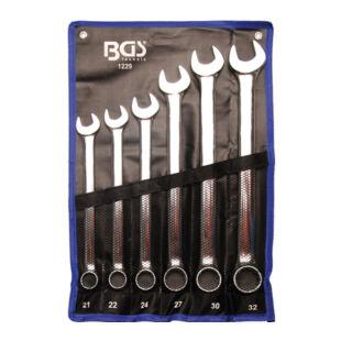 BGS-1229 Csillag-villás kulcs készlet 14-részes 21-32mm extra hosszú