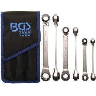 BGS-1556 3 részes 4 az 1-ben racsnis kulcs készlet 8 – 19mm