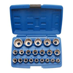 """BGS-2267 Dugókulcs készlet 21 részes 1/2"""" 12 szög 8-36 mm"""