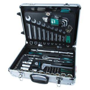 Mannesmann 29077 Szerszámkészlet 159 részes gurulós kofferben