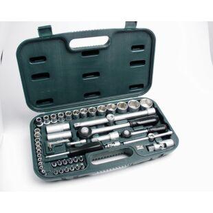 Mannesmann 29100  Dugókulcs-csavarfej készlet 55-részes, CV,