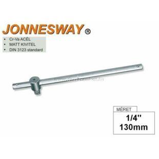 """Jonnesway T-hajtószár 1/4"""" 130mm"""