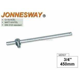 """Jonnesway T-hajtószár 3/4"""" 450mm"""