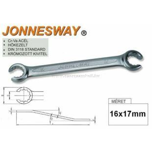 Jonnesway Profi Fékcsőkulcs 16x17mm