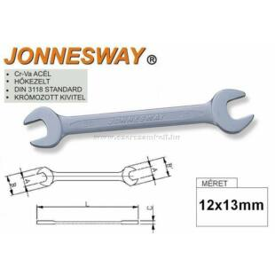 Jonnesway Profi Villáskulcs 12x13mm