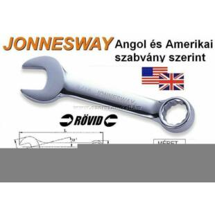 Jonnesway Profi Rövid Csillag-Villáskulcs 17mm