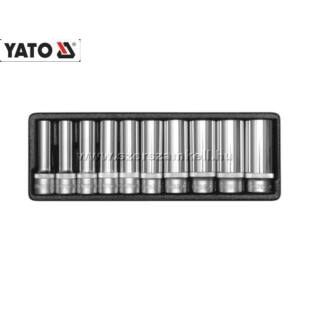 """Yato Hosszú Dugókulcs Készlet 1/2"""" 10-24mm (10db-os)"""