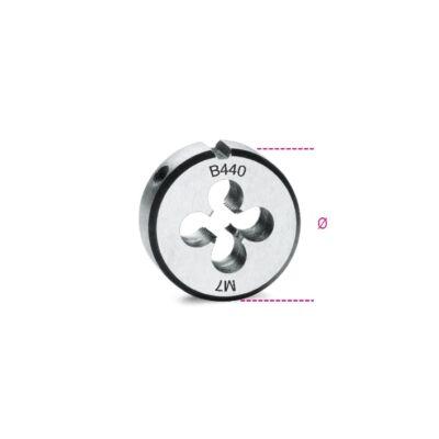 Beta 440/2 Menetmetsző, metrikus normál menet, krómacélból, 2x0,4