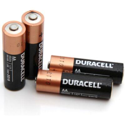 Duracell AA 1,5V-os ceruza elem (4db-os)