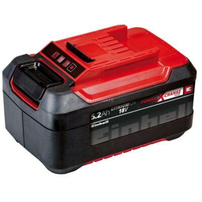 Einhell 18v 5,2 Ah PXC Plus akkumulátor