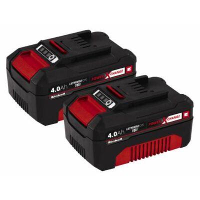 Einhell Power X-Change akkumulátor 18V 2 x 4,0Ah Li-Ion