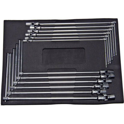 Ellient Tools T-kulcs készlet, csuklós, 6-lapos, 12 db-os