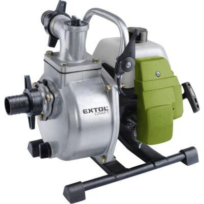 "Extol 414503 benzinmotoros szivattyú, 1,45 kW, kétütemű, 1,5"", max. 250 liter/perc, max. 35 m"