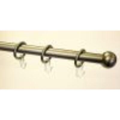 Gardinia Stil gömb karnis (antik réz) 160cm