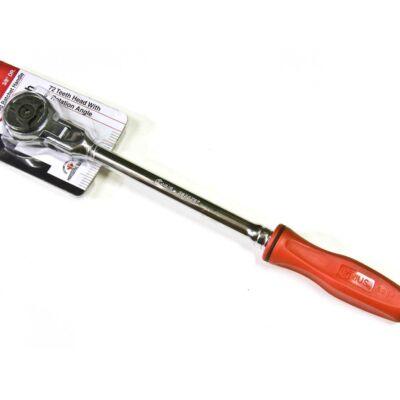 """Genius Tools crowa racsni csuklós fejjel (180°), 300 mm, 3/8"""""""