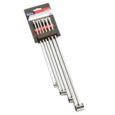 Genius Tools csillagkulcs készlet, hosszú, 10-19mm, 6 db-os