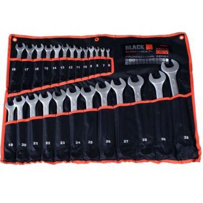 Black Tools csillag-villáskulcs készlet 6-32mm (25db-os)