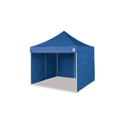 3x3-as pavilon, oldalfallal - kék