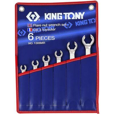 King Tony 6 részes fékcsőkulcs készlet
