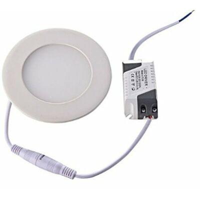 Süllyeszthető kerek LED panel 10cm 4W (meleg fehér)
