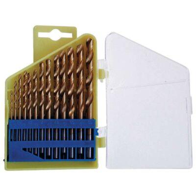 Fémfúró készlet HSS TITÁN bevonatú, 13db, 1,5- 6,5mm (műanyag dobozban)