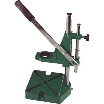 Extol fúrógépállvány (38 és 43 mm befogás, teljes magasság: 420 mm, max. fúrási mélység: 60 mm)