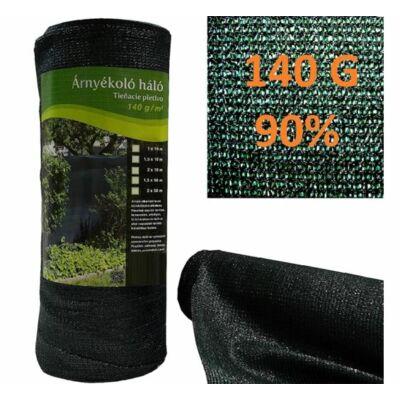 Árnyékoló háló 140 gr, 90%, Extra sűrű, 1,5*10 M