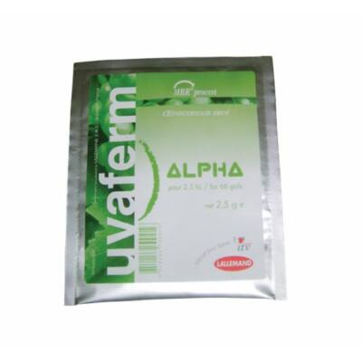 Almasavbontó uvaferm alpha 2,5 g vörös és fehérborokhoz