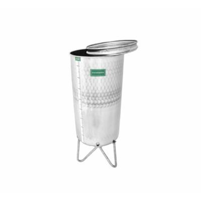 Bortartály INOX tömlõzáras (500 liter)