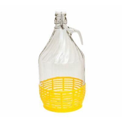 Dáma üveg 5 L csattal