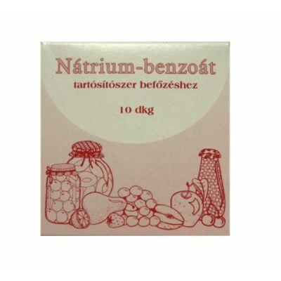 Nátrium-benzonát, tartósítószer befőzéshez. 10 dkg