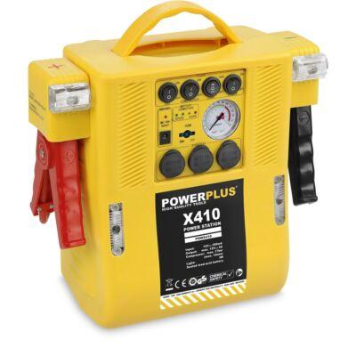 PowerPlus POWX410 Akku töltő és energia állomás 4 az 1-ben