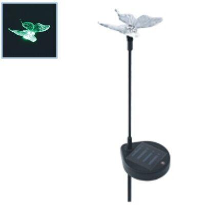 Pillangó LED-es kerti szolárlámpa