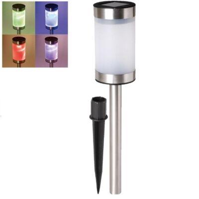 Színváltó LED-es kerti szolárlámpa