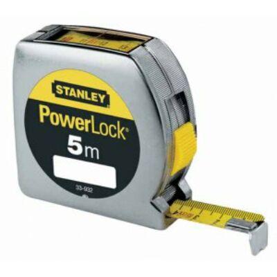 Stanley 0-33-932 PowerLock mérőszalag felülolvasható 5m×19mm
