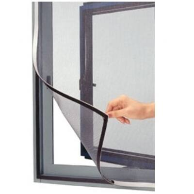 Öntapadós szúnyogháló 100x100cm (antracit fekete)