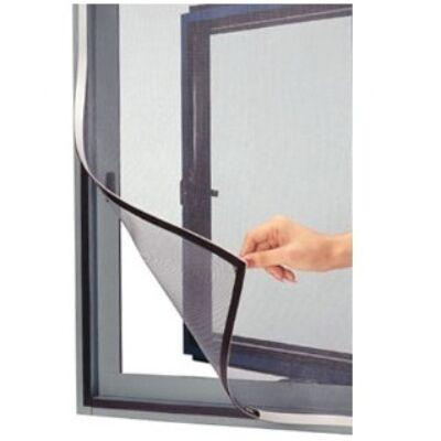 Öntapadós szúnyogháló 110x130 cm (antracit fekete)