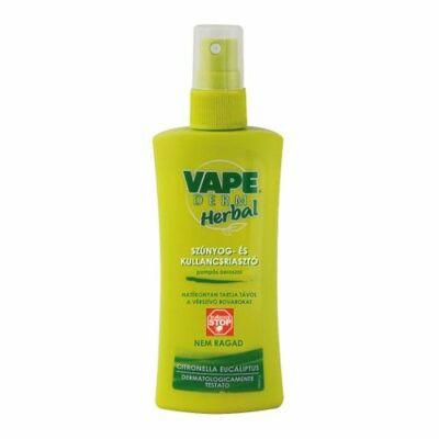 VAPE Derm Herbal szúnyog és kullancsriasztó (pumpás) 100ml
