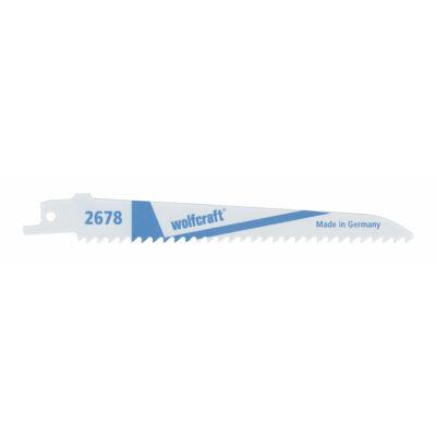 Wolfcraft szablyafűrészlap 2db BiM 130/150mm d=4.2mm