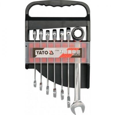 Yato YT-0208 Racsnis csillag-villás kulcs készlet 7 db-os